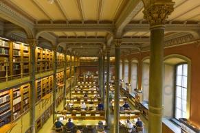 Bibliothek in Stockholm