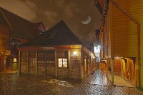 Historisches Viertel in Bergen
