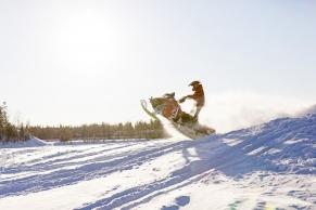 Schnee-Scooter;