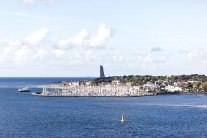 Yachthafen von Laboe