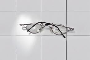 Zesprungende Brillengläser